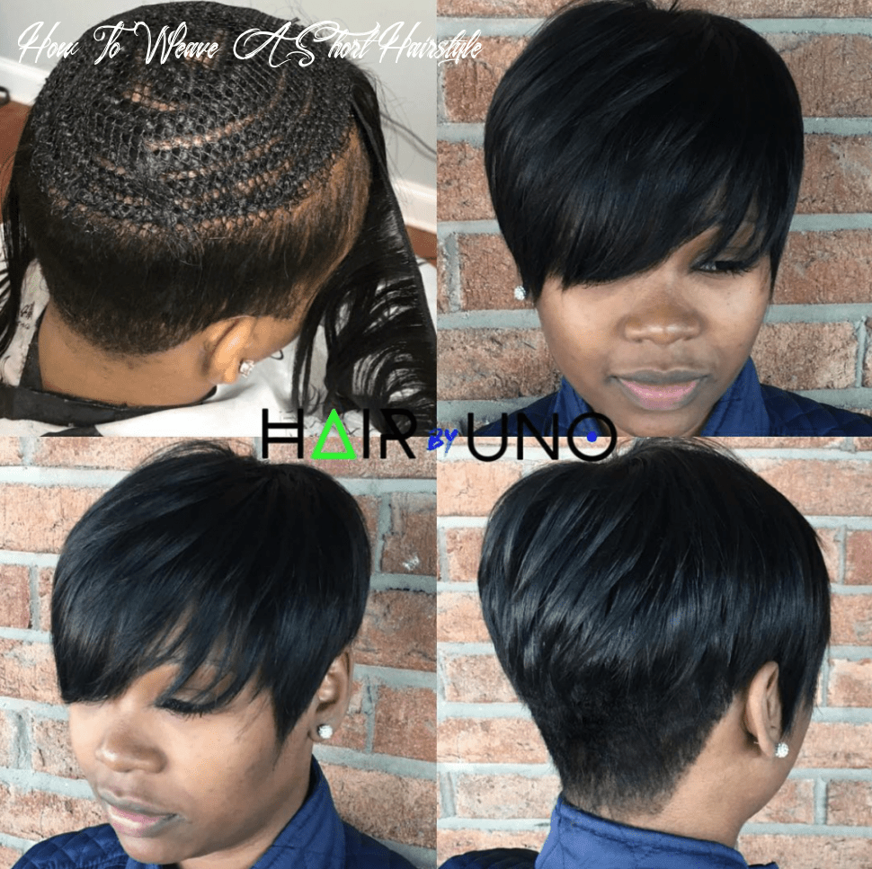 Pin on black hairstyles how to weave a short hairstyle