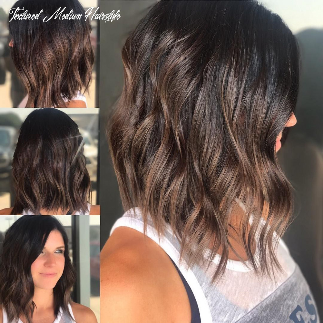 Pin on bobs & mid length cuts textured medium hairstyle