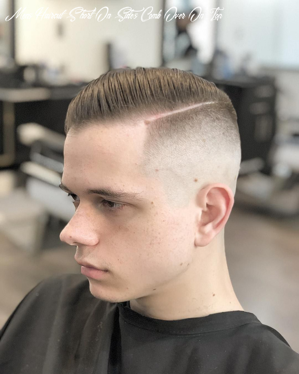 Pin on comb over hairstyles mens haircut short on sides comb over on top