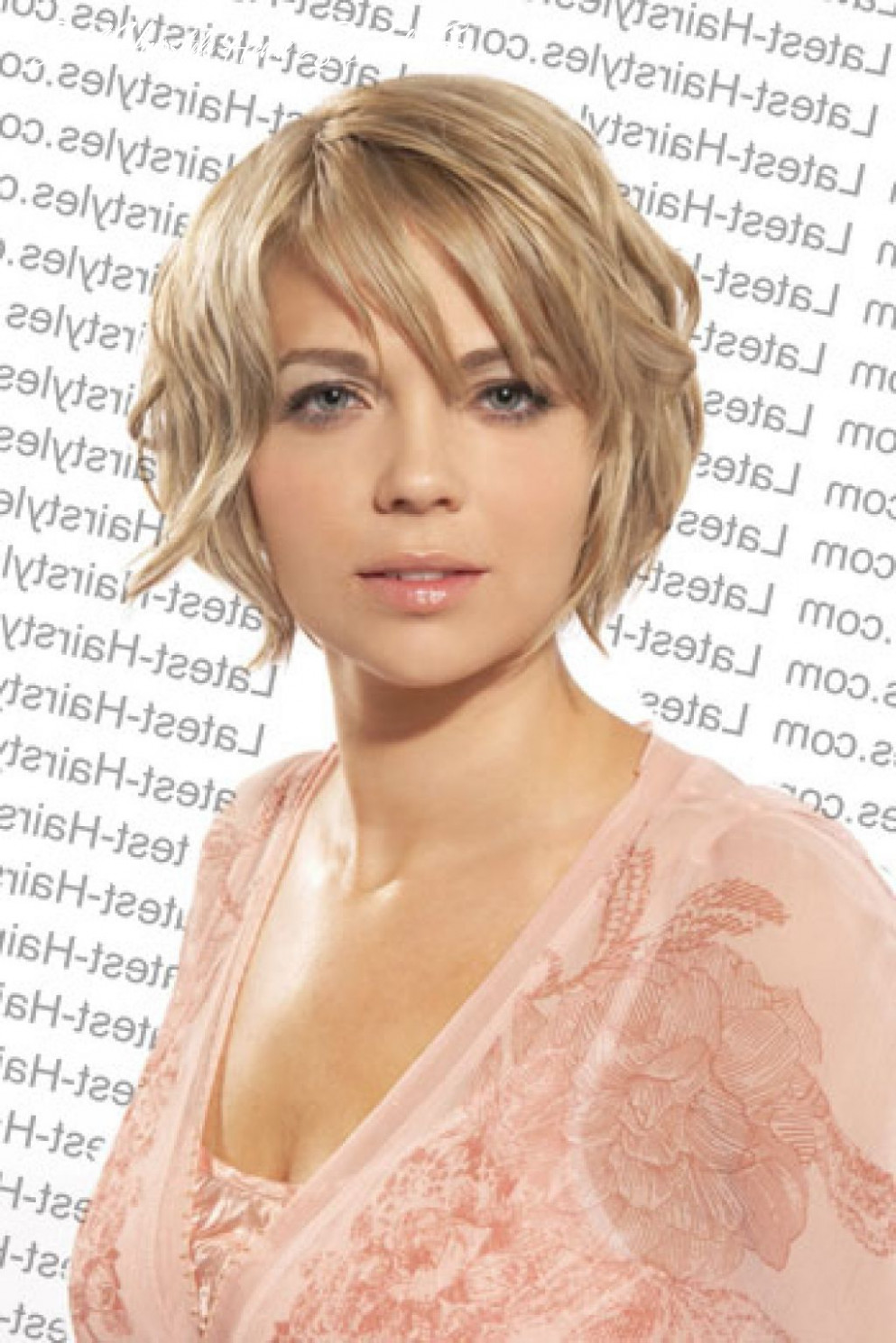 Pin on grey hair styles short hairstyle heart shaped face