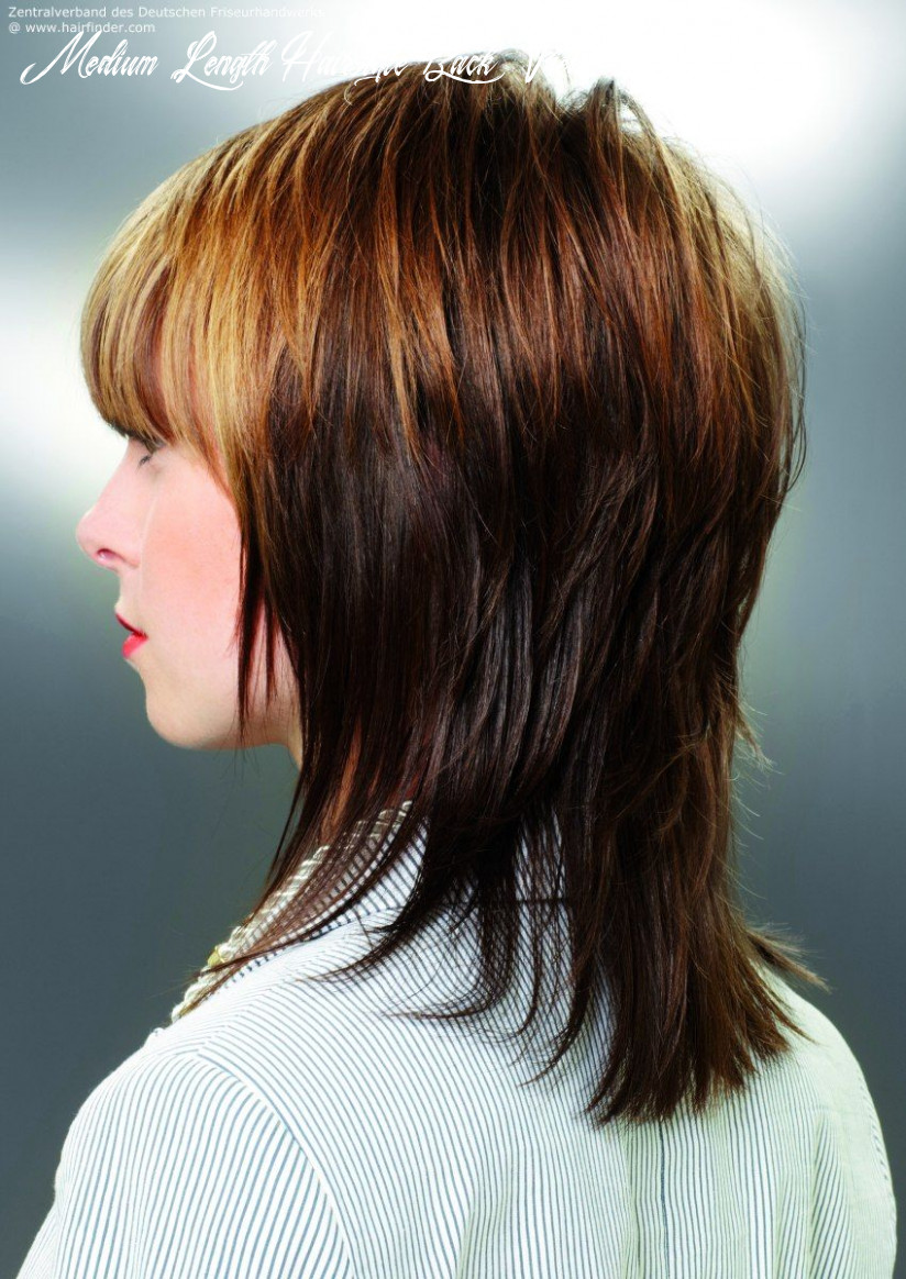 Pin on hair medium length hairstyle back view