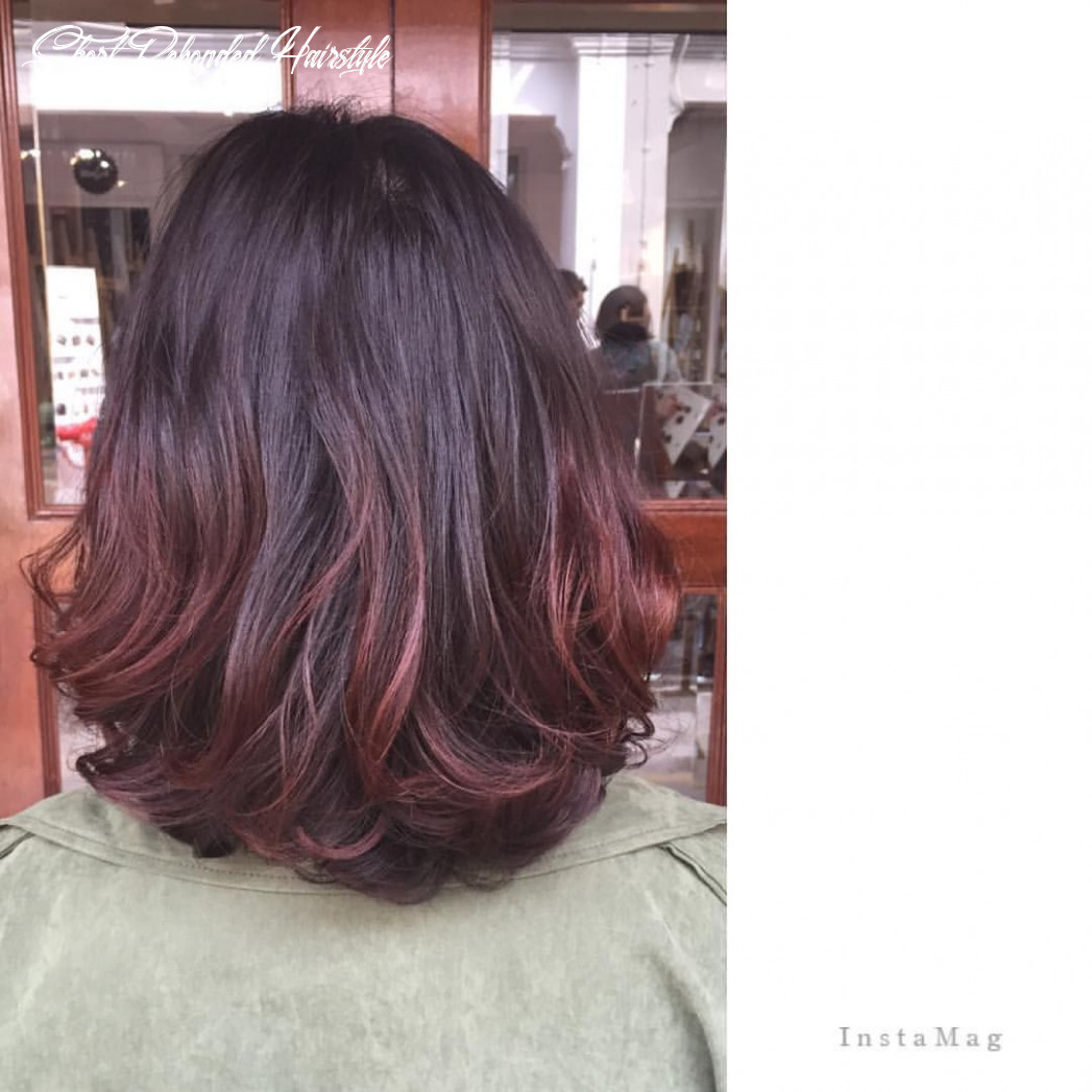 Pin on hair short rebonded hairstyle