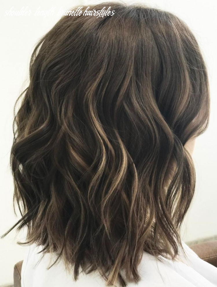 Pin on hair styles shoulder length brunette hairstyles