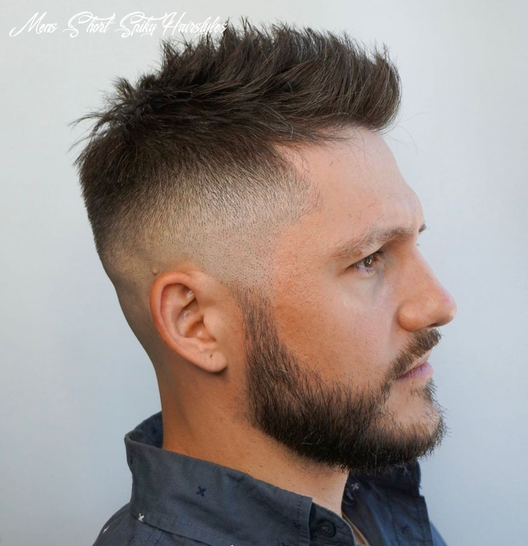 Pin on haircut mens short spiky hairstyles