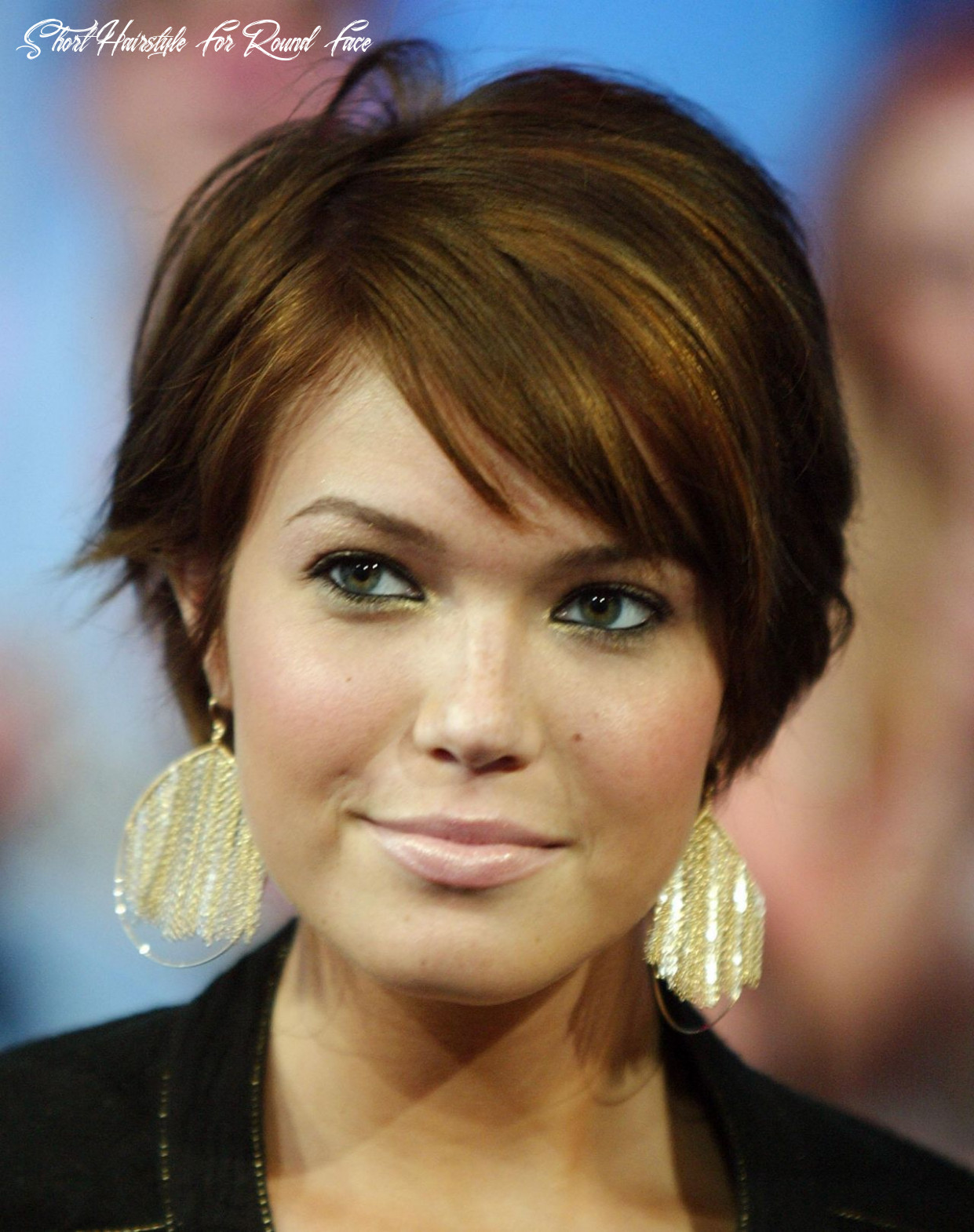 Pin on hairstyle round face short hairstyle for round face