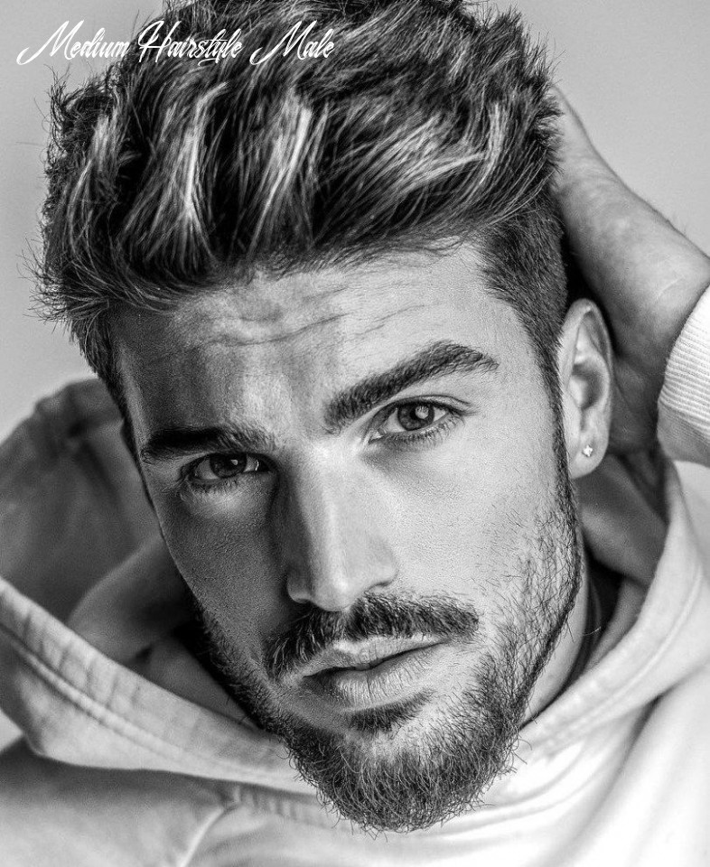Pin on hairstyles haircuts medium hairstyle male