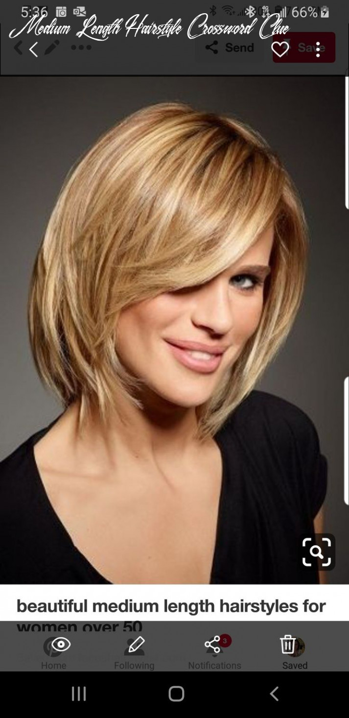 Pin on hairstyles medium length hairstyle crossword clue