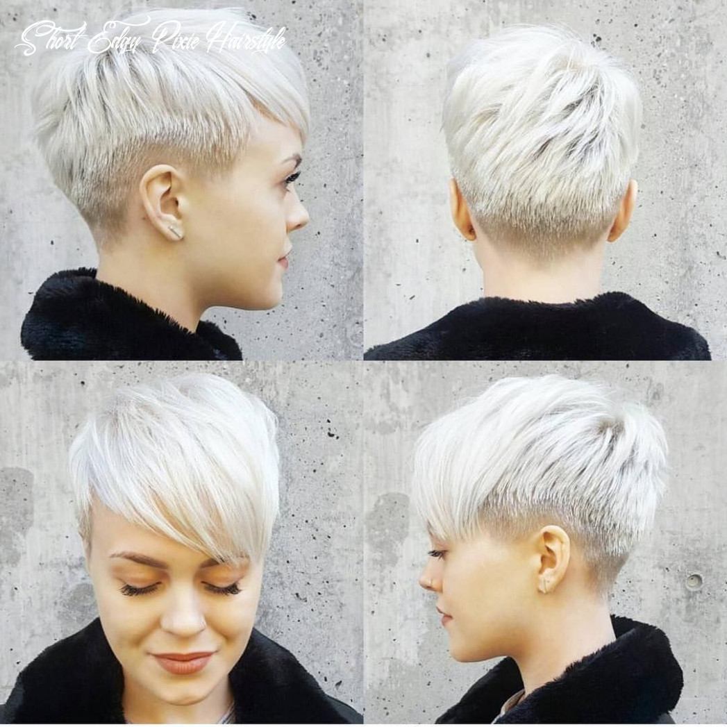 Pin on hairstyles short edgy pixie hairstyle