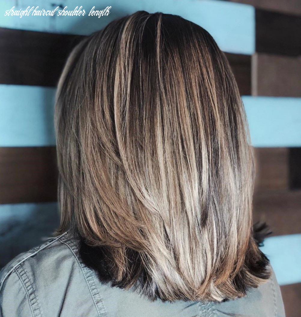 Pin on layered thick hairstyles straight haircut shoulder length