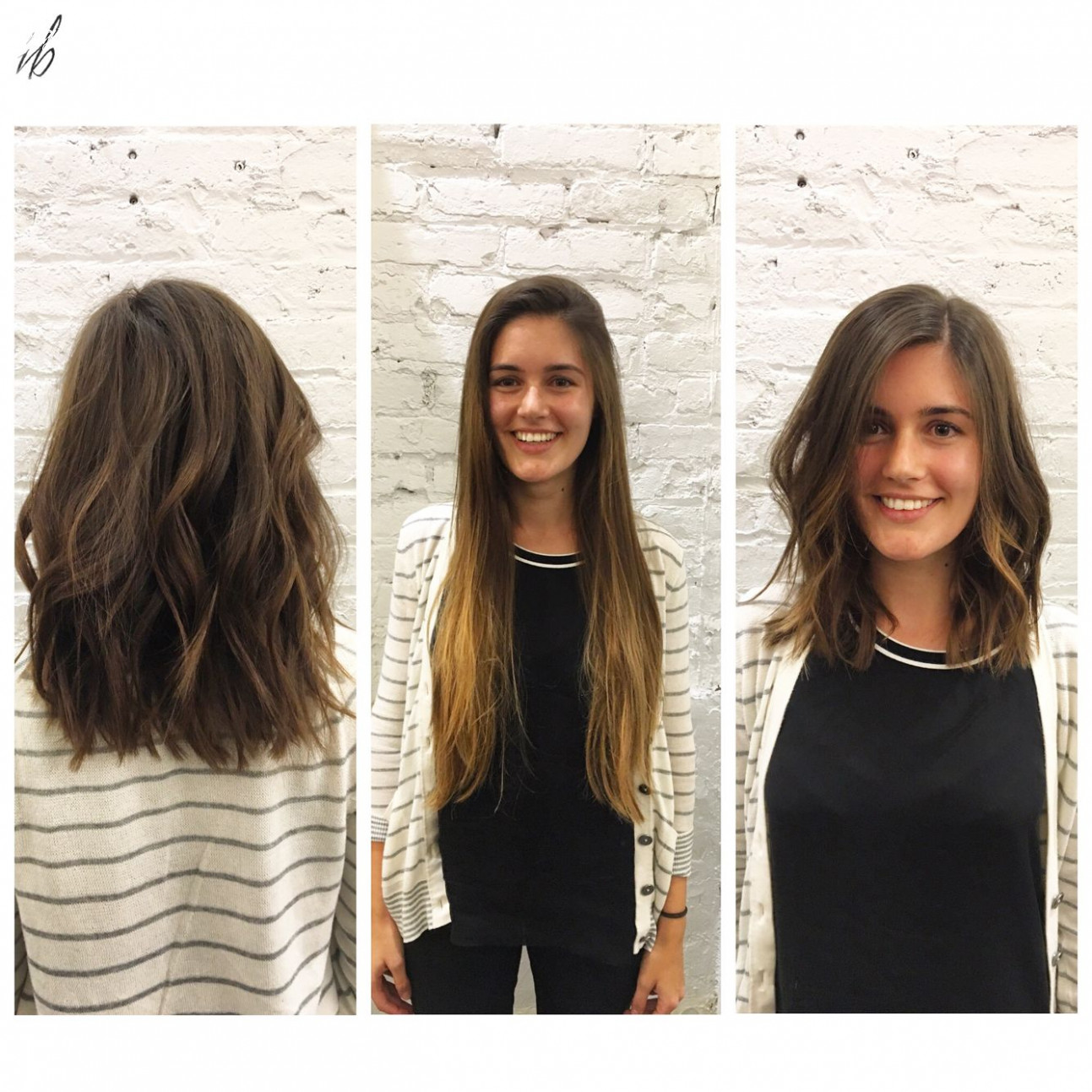 Pin on mastered mid length long to short hair