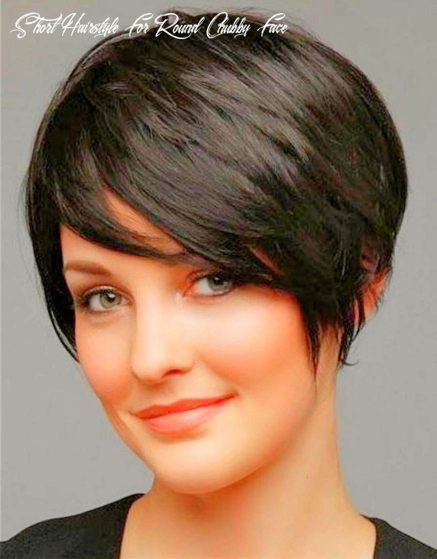 Pin on pixie cuts short hairstyle for round chubby face