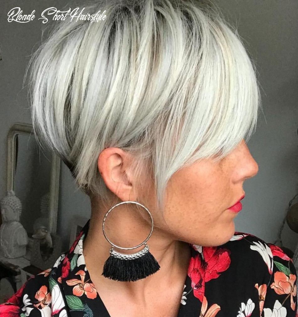 Pin on womens haircuts to show your stylist blonde short hairstyle