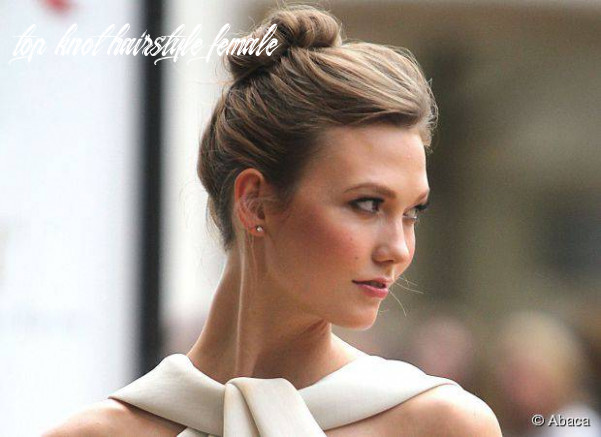 Popular top knot hairstyles for women top knot hairstyle female