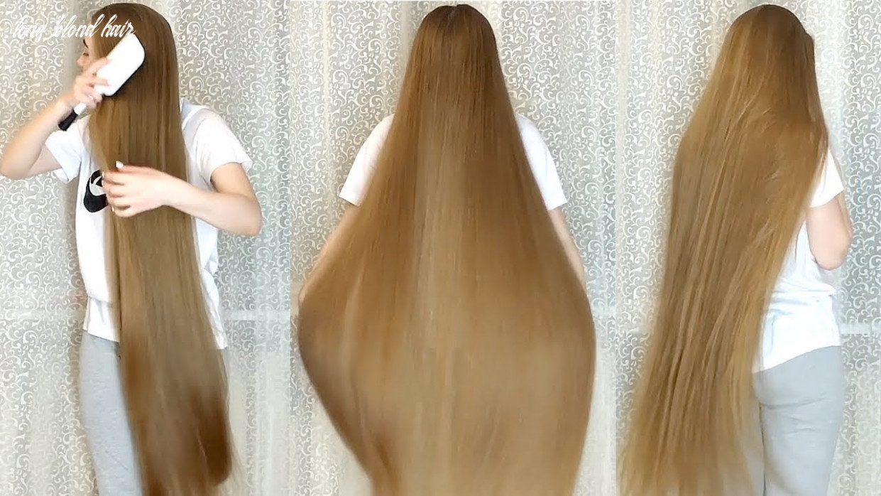 Realrapunzels long blonde hair by the curtains (preview) long blond hair