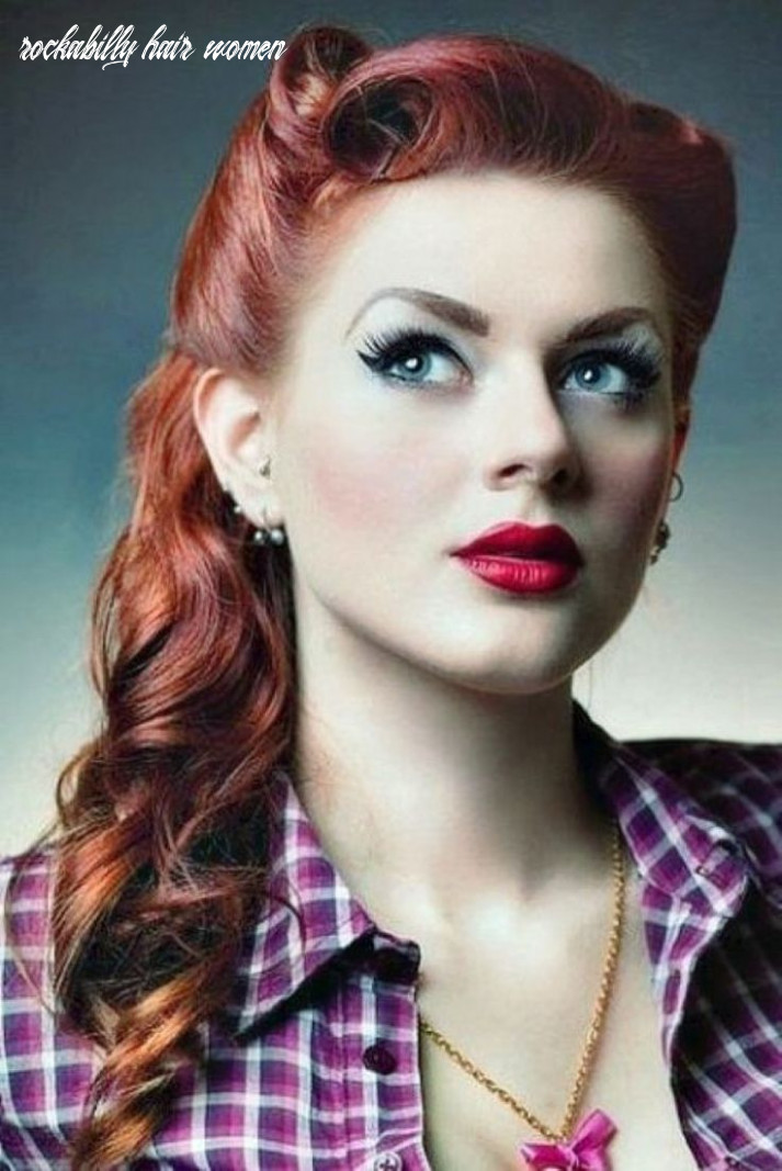 Rockabilly hairstyle women google search   11s hairstyles