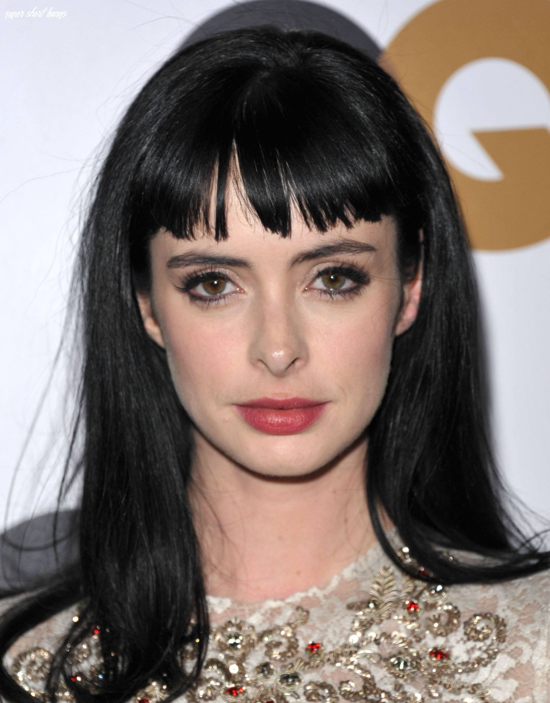 Short bangs: how to get in on the trend   all things hair super short bangs