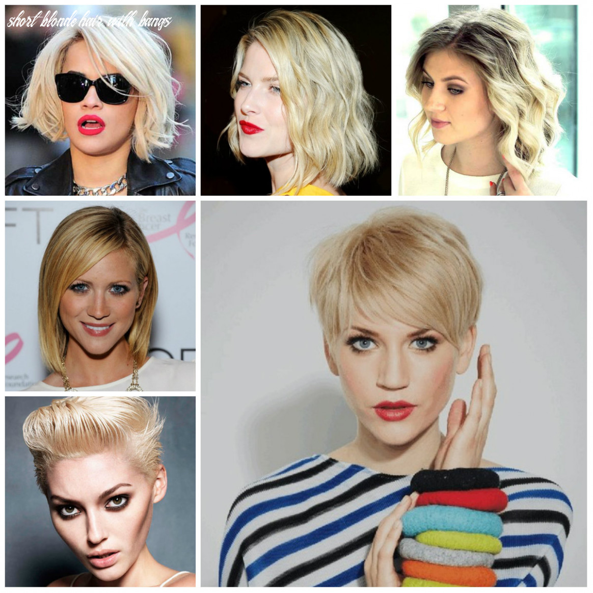 Short blonde hairstyle inspiration for 9   9 haircuts