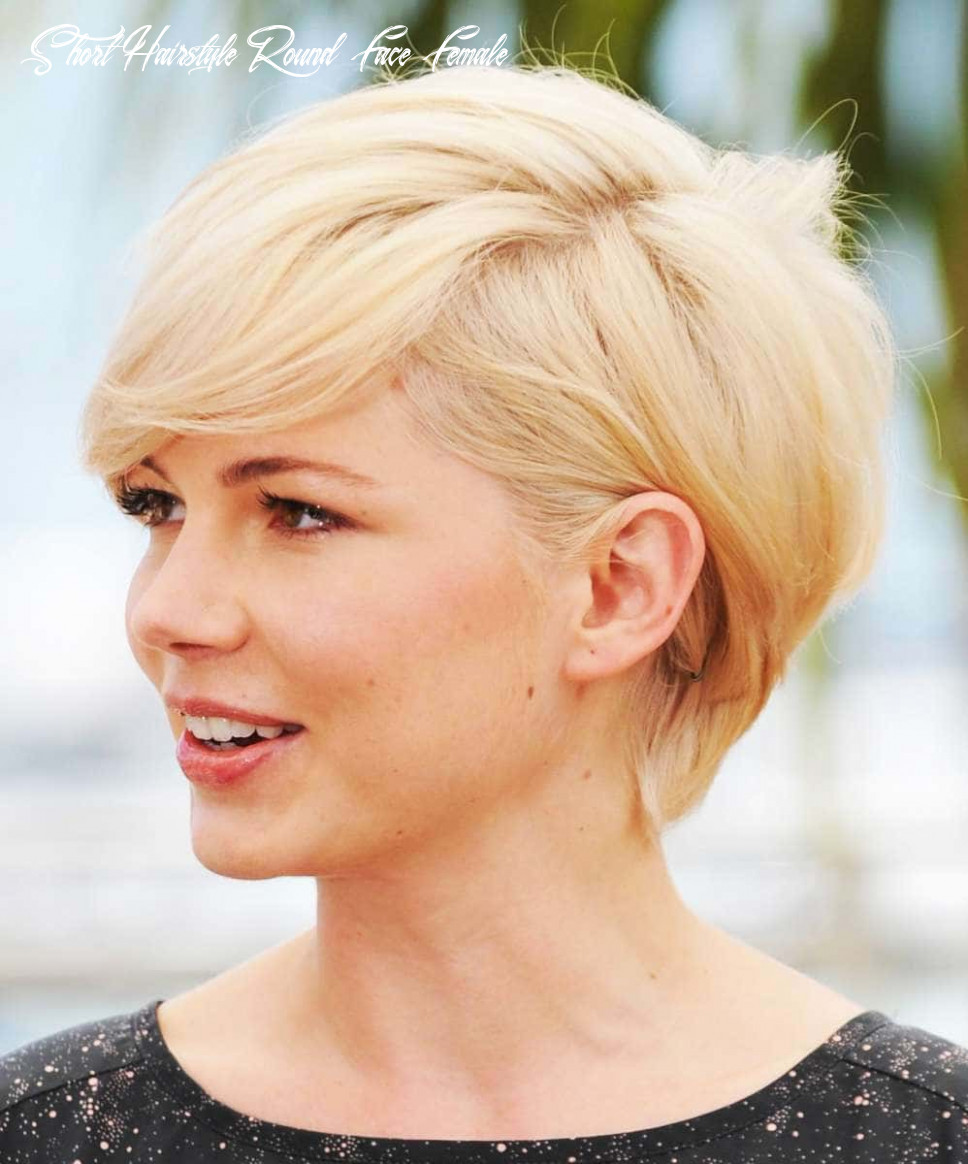 Short haircuts for round face shape 10 short hairstyle round face female