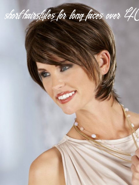 Short hairstyles for women over 10 with long faces | long face