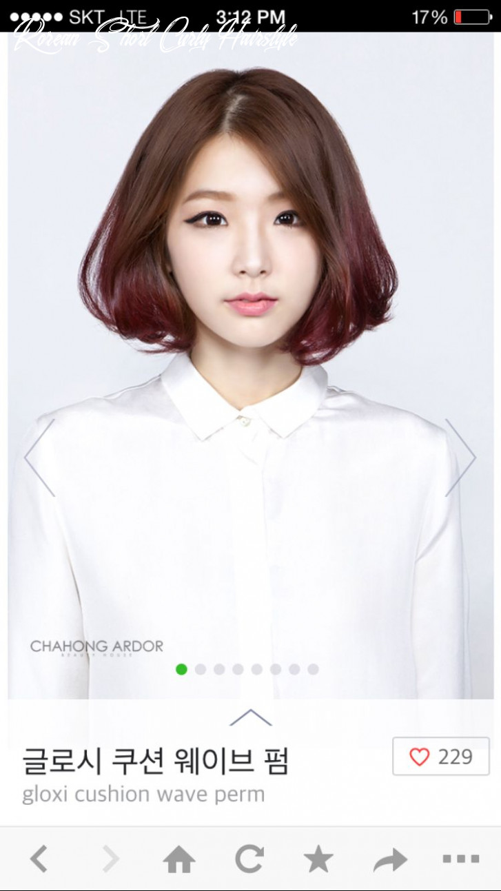 Short wavy hair korean style more (with images) | hair color asian