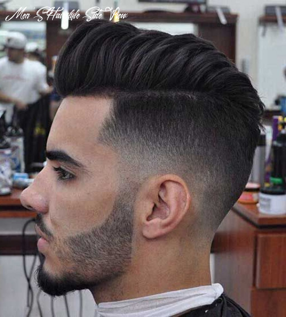 Side view hairstyle #12 | men haircut styles, mens haircuts fade
