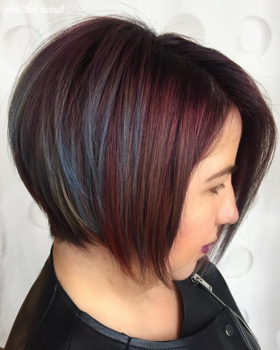 The 12 best short hairstyles for thick hair to be easier to manage short thick haircuts
