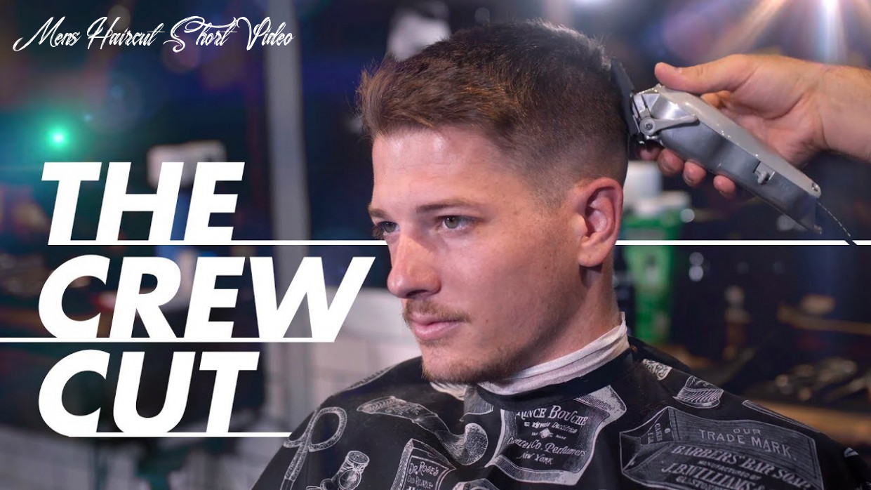The crew cut hairstyle short and easy hair for men mens haircut short video