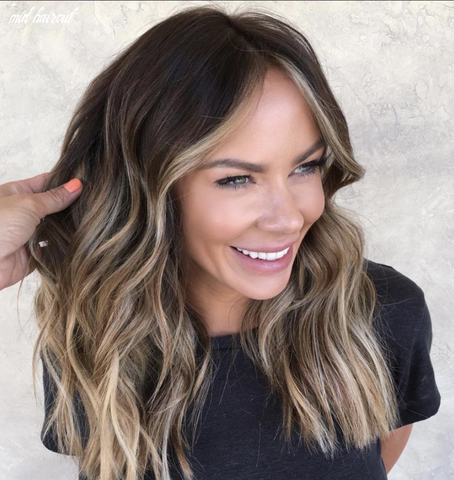 The most flattering medium length brown hairstyles to try in 12