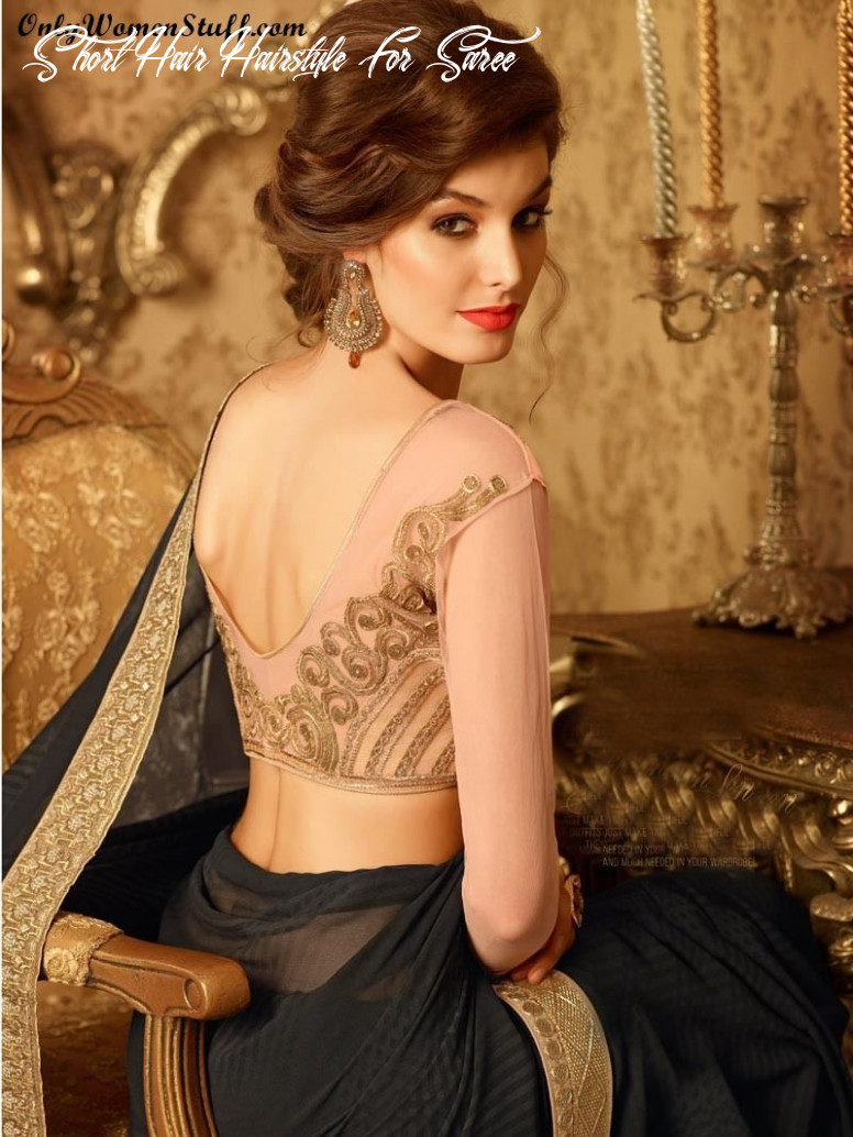 Top 10 hairstyles for sarees pictures for all types of face