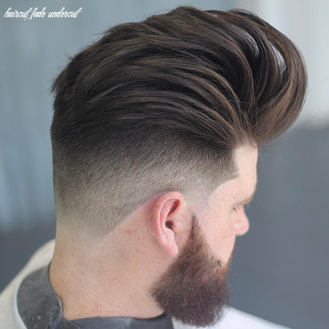 Undercut fade haircuts hairstyles for men (8 styles) haircut fade undercut