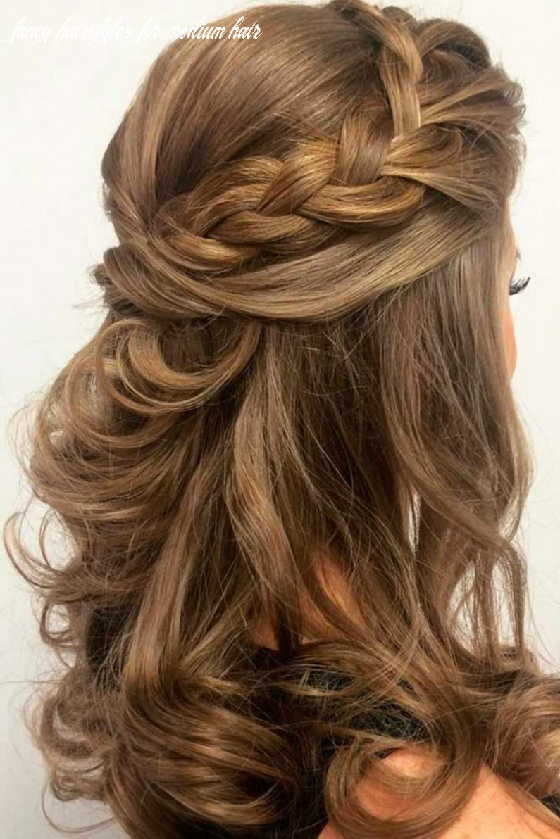 Up does for medium length hair prom hairstyles for shoulder length