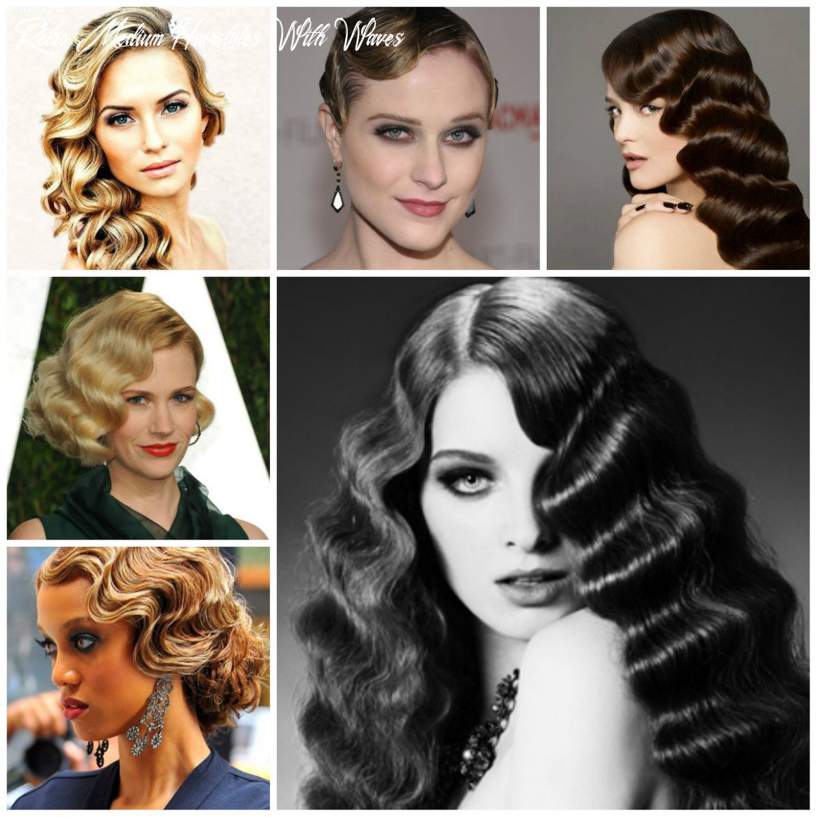 Vintage finger wave hairstyles to try in 11   かわいい ヘア