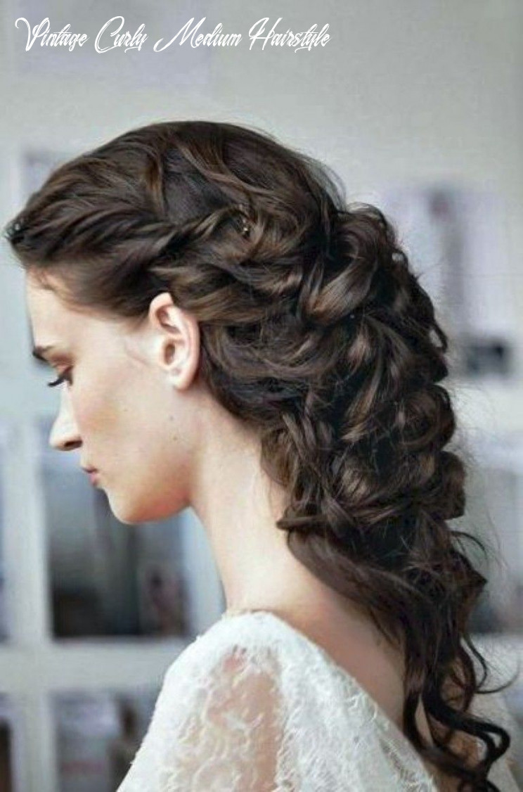 Vintage wave hairstyles for long hair #prom hair | wedding