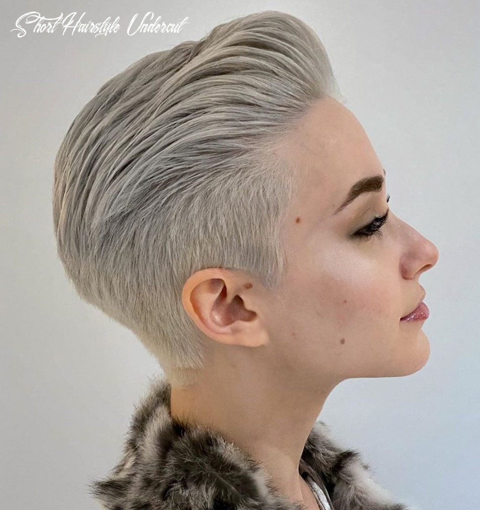 11 hot undercuts for women that are calling your name hair adviser short hairstyle undercut