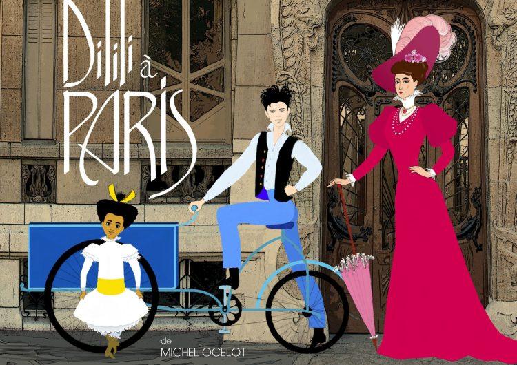 Première image de Dilili à Paris, prochain film de Michel Ocelot