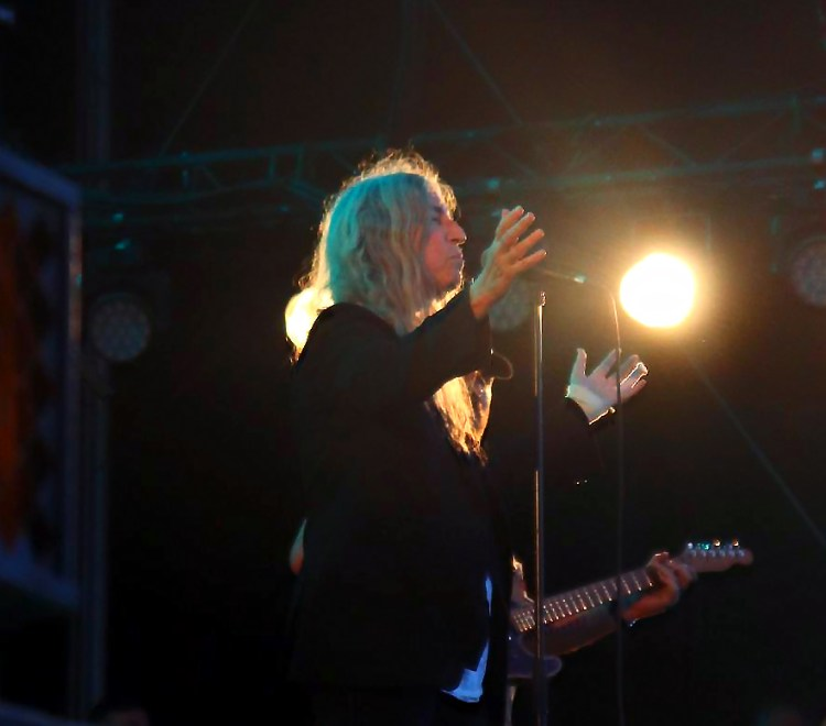 Patti Smith à la Route du Rock 2018