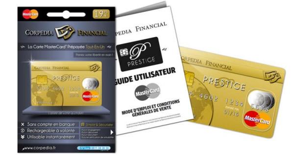 Carte Prpaye VERITAS MasterCard Exigez Lanonymat Lors