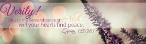 15 - in remembrance of Allah do hearts find peace