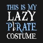 Lazy Pirate Costume