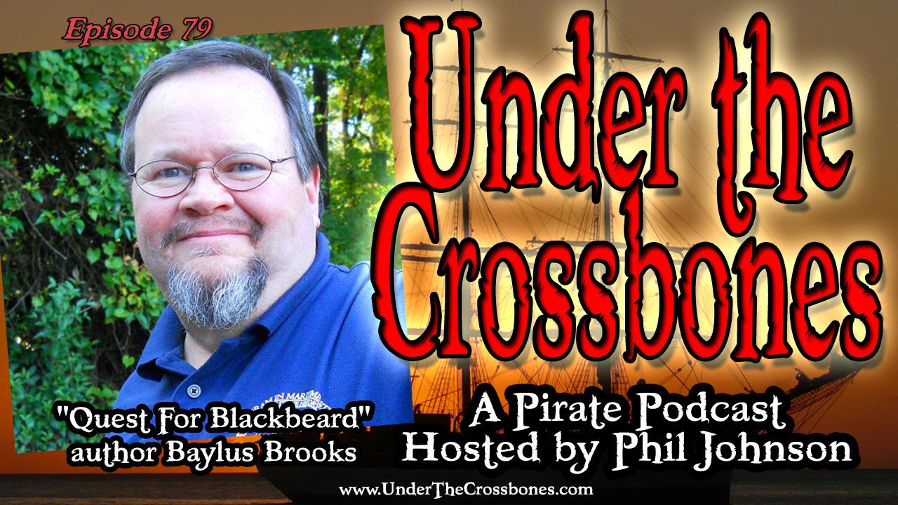 'Quest For Blackbeard' author Baylus Brooks