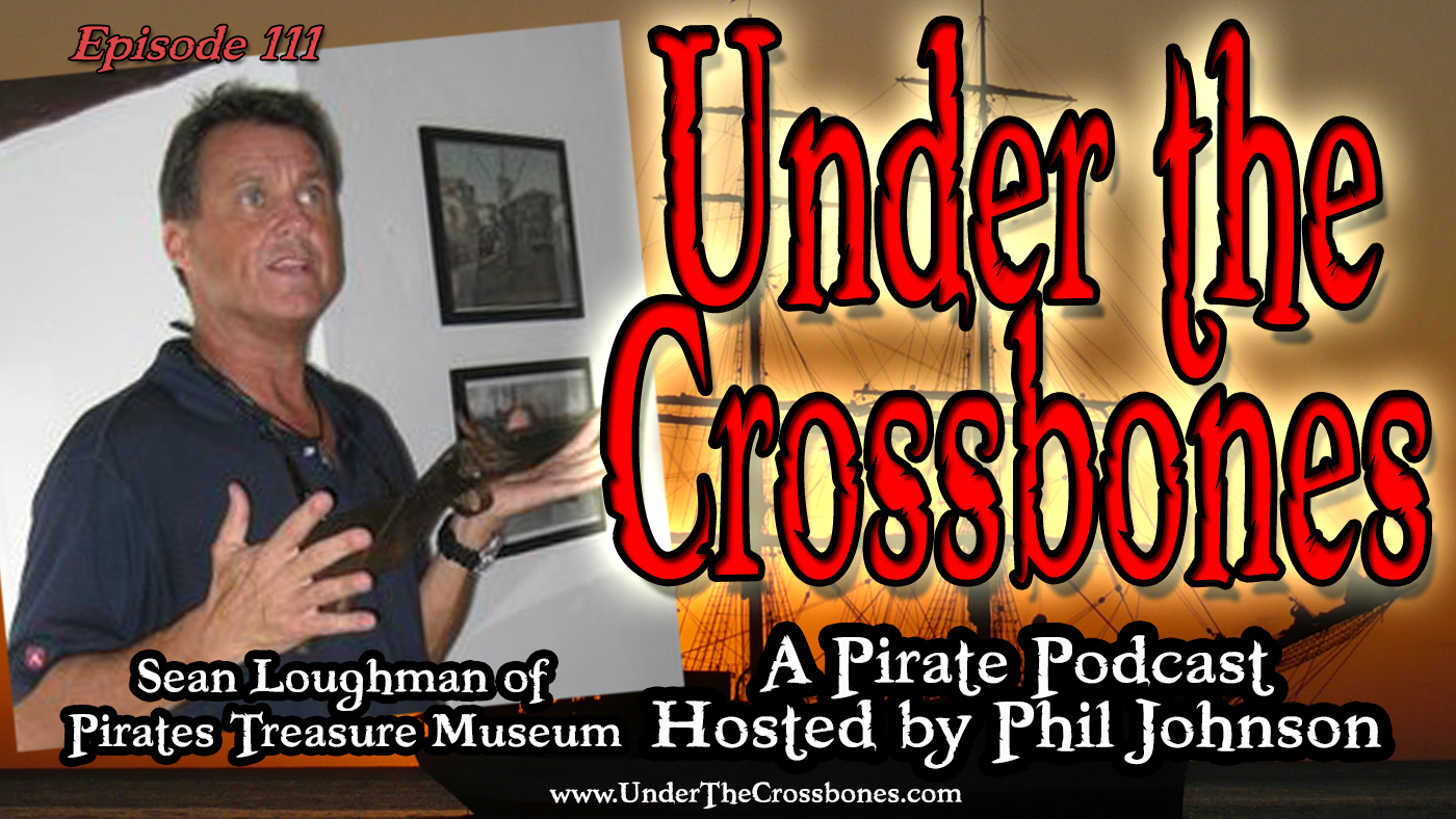 Sean Loughman of Pirates Treasure Museum