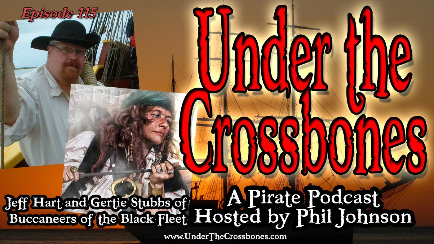 Jeff Hartt and Gertie Stubbs of Buccaneers of the Black Fleet