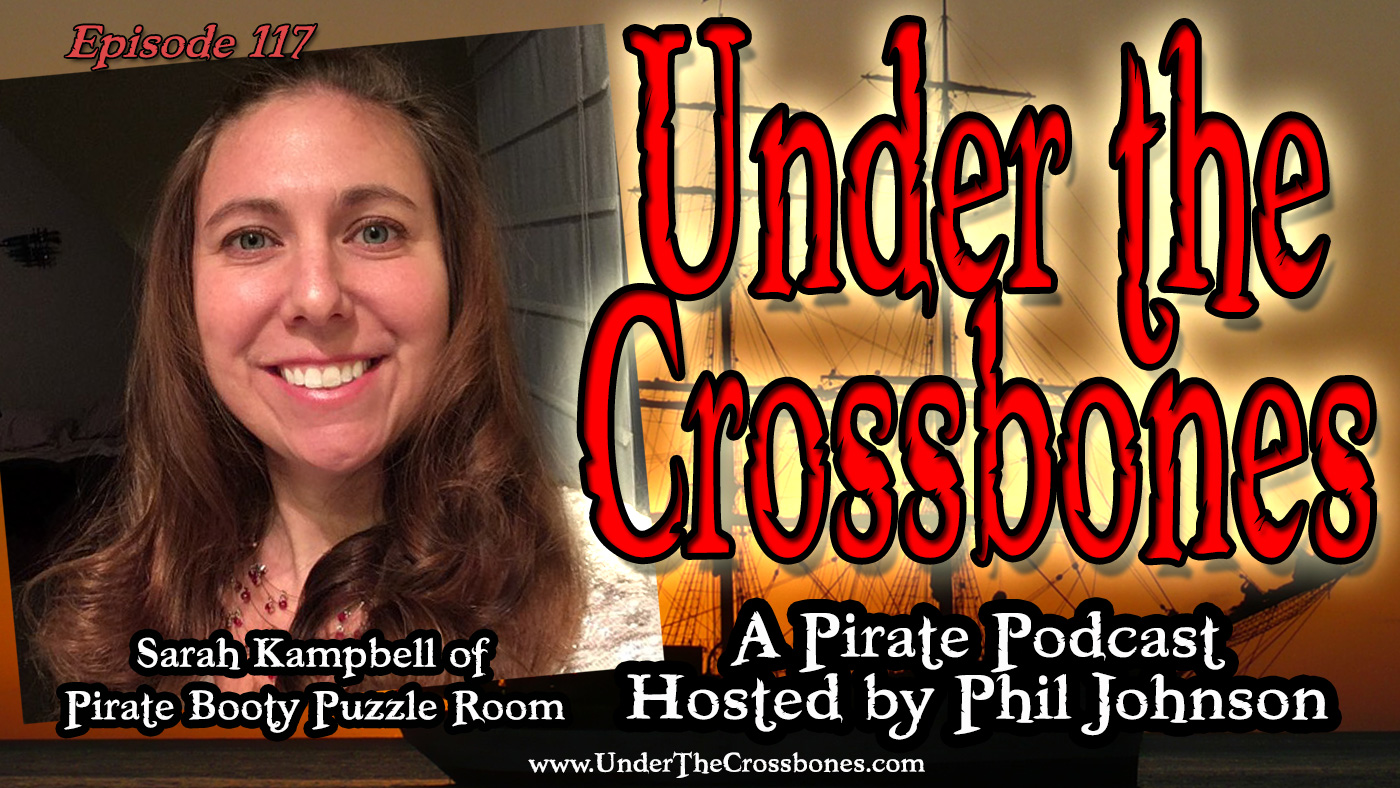 Sarah Kampbell of Pirate Booty Puzzle Room