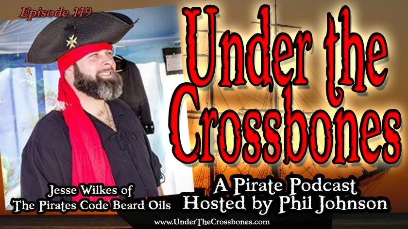 Jesse Wilkes of The Pirates Code Beard Oils