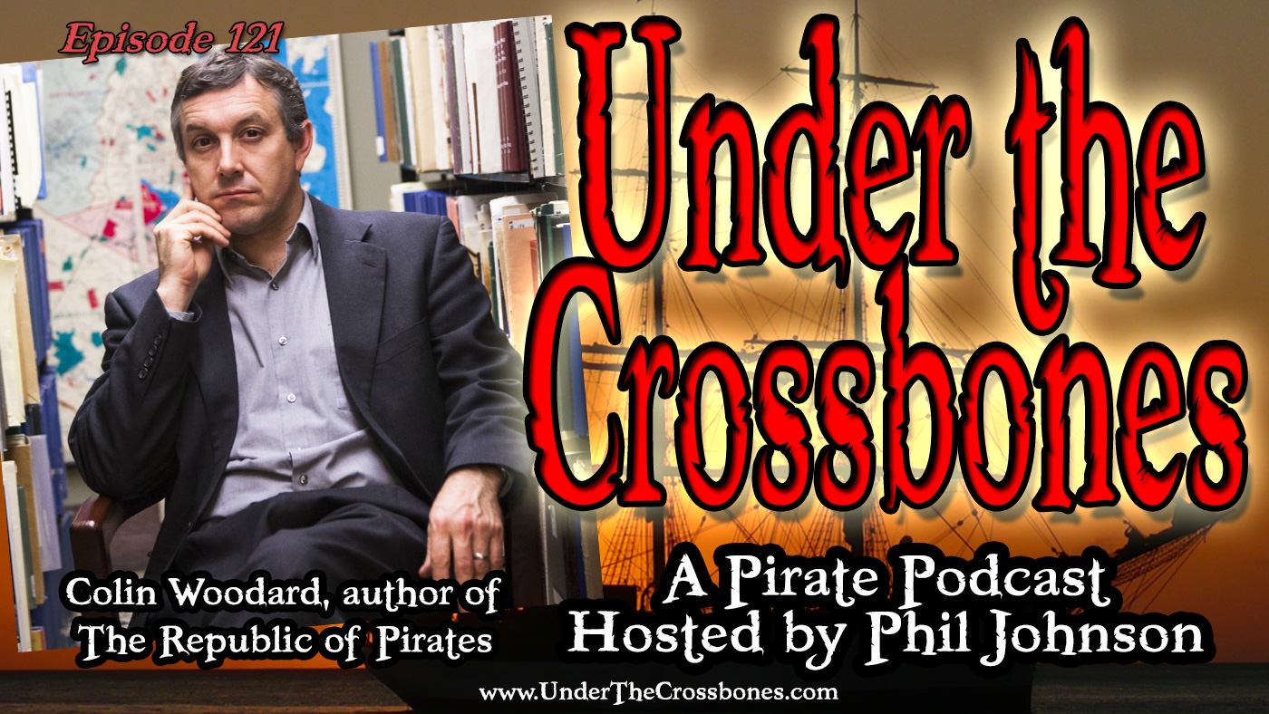 Colin Woodard author of The Republic of Pirates