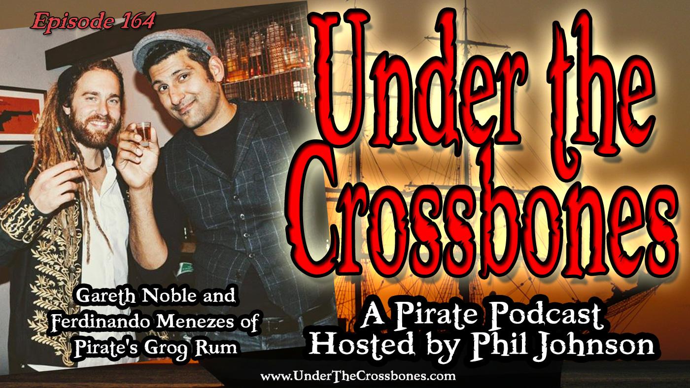 Gareth Noble and Ferdinando Menezes of Pirate's Grog Rum