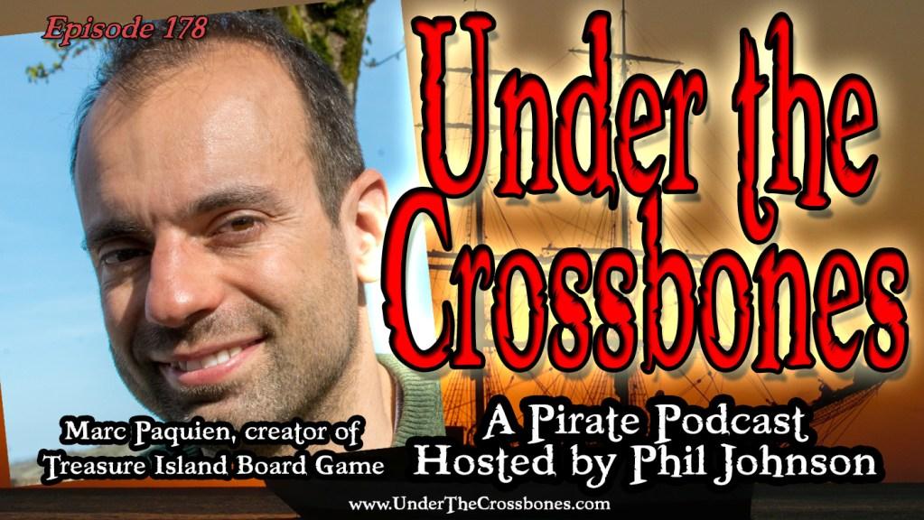 Marc Paquien, creator of Treasure Island board game.