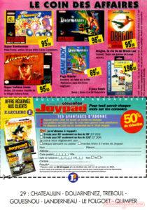 catalogue leclerc jeux et consoles