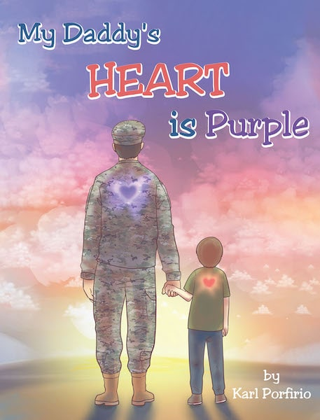 "North Georgia man pens book ""My Daddy's Heart is Purple"""