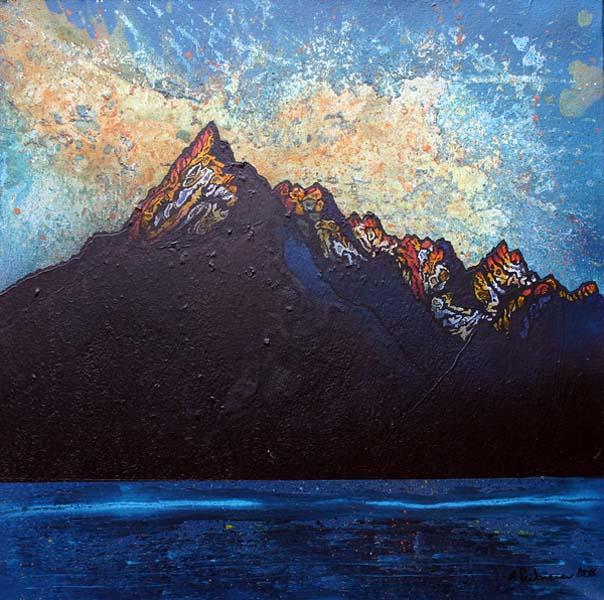 Sunset Landscape Paintings